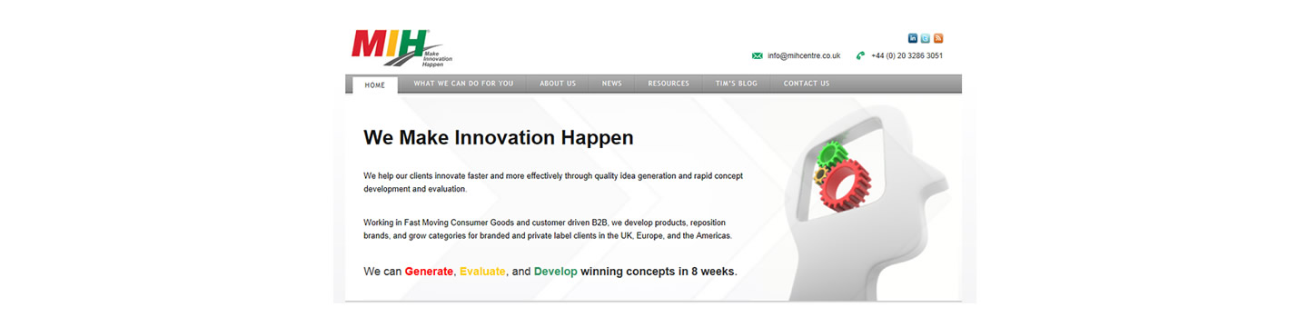 MIH - Making Innovation Happen